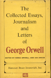 george orwell selected essays This site is dedicated to the life and work of the british author george orwell who achieved prominence in the late 1940's as the author of two brilliant satires.