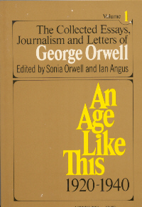 orwell the collected essays Collected essays, by george orwell table of contents the spike (1931) a hanging (1931) bookshop memories (1936) shooting an elephant (1936) down the mine (1937.