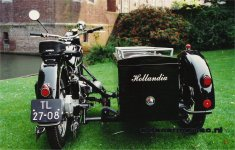 Hollandia's Delivery-sidecar