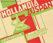 Hollandia's catalogus voorblad