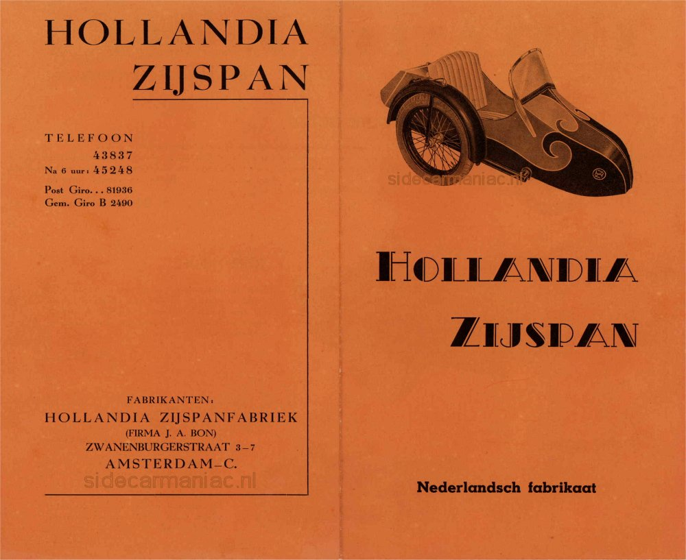 Hollandia's warranty