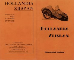 Hollandia's oranje folder