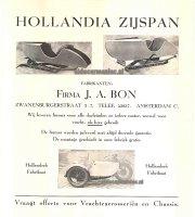 Hollandia's first sidecar ?