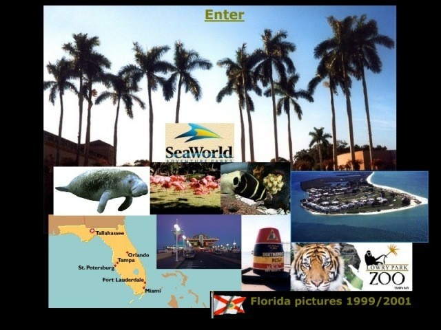 Welcome to Florida Pictures 1999/2001 ! - click to enter