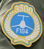 3500 hrs on the F-104 (italian)