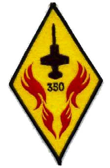 Belgian Air Force patch, 350 Smaldeel (350 sqn)