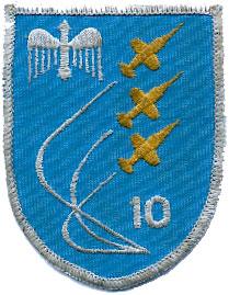 German Air Force patch, Waffenschulestaffel 10 (WS10)
