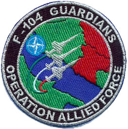Italian Air Force patch, Kosovo War in former Yugoslavia