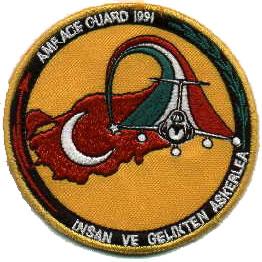 Italian Air Force patch Gulf Wa rperiod in Turkey