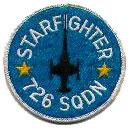 Royal Danish Air Force patch, 726 Eskadron (726sqn)