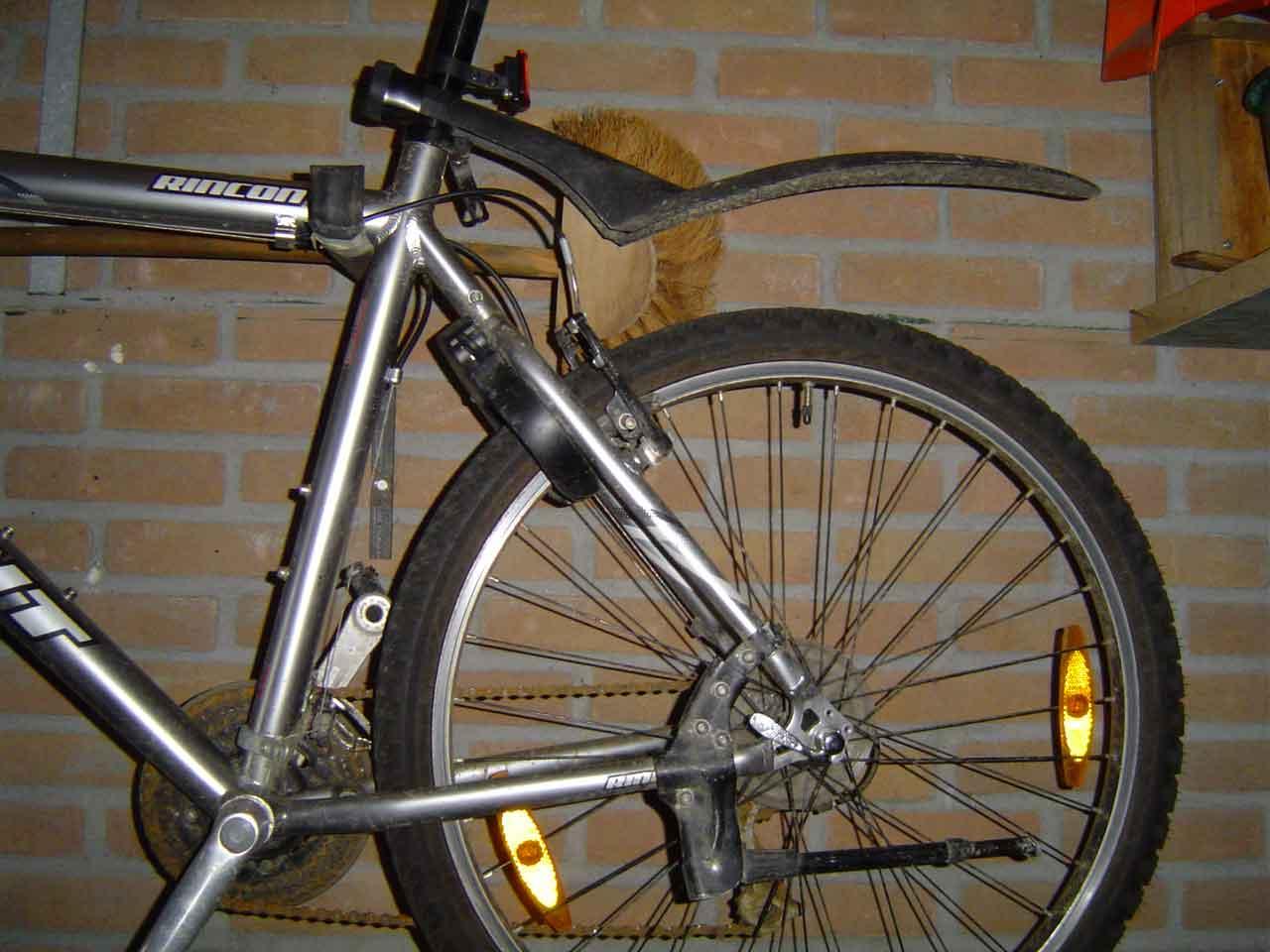 veel voor de fiets