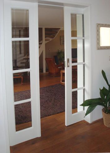 Joop de timmerman ambachtelijke timmer en meubelmakerij for Schuifdeuren woonkamer