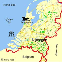 Some Maps Of The Netherlands And Nijmegen