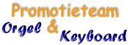 Promotieteam Orgel en Keyboard