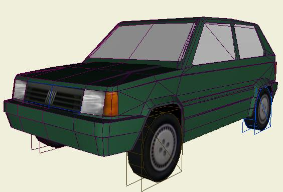 Extra low poly vehicle challenge 1991 fiat panda smcars please comment malvernweather Images