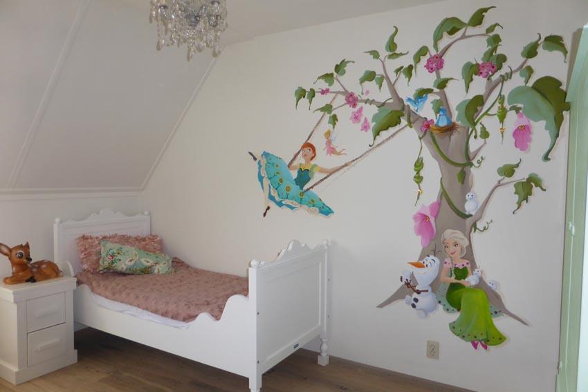 Schilderij slaapkamer meisje: inspirerend schilderij slaapkamer